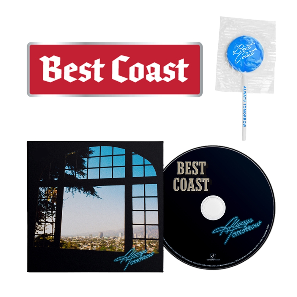 Signed or Unsigned CD + Lollipop + Bumper Sticker