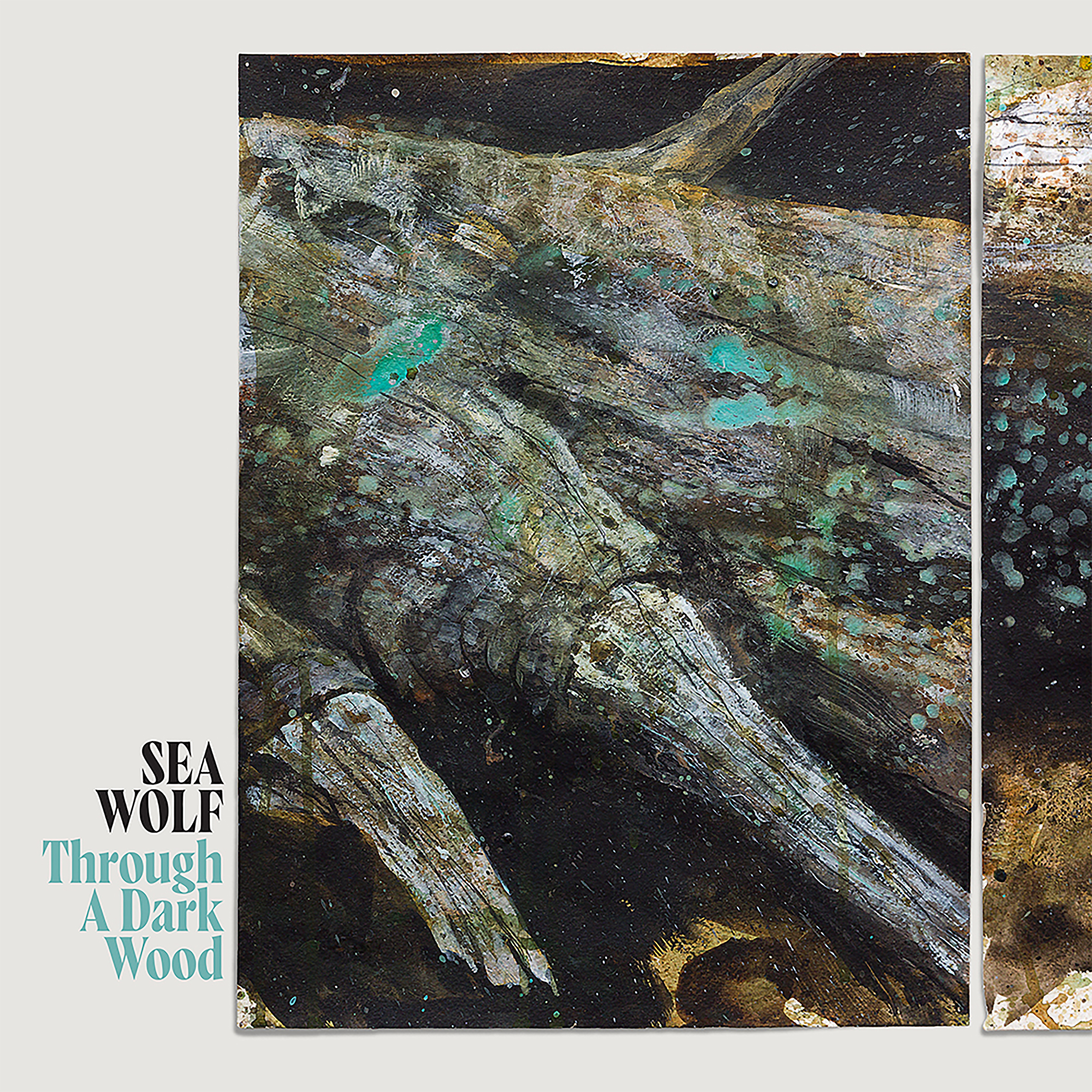 Sea Wolf - Through A Dark Wood - T-Shirt + Button Pack + Digital Album Bundle