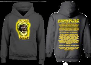 Dark WhiteFox Gold Nappy Pride Hoodie