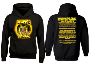 AfroWoman: Gold Nappy Pride Heavyweight Hoodie