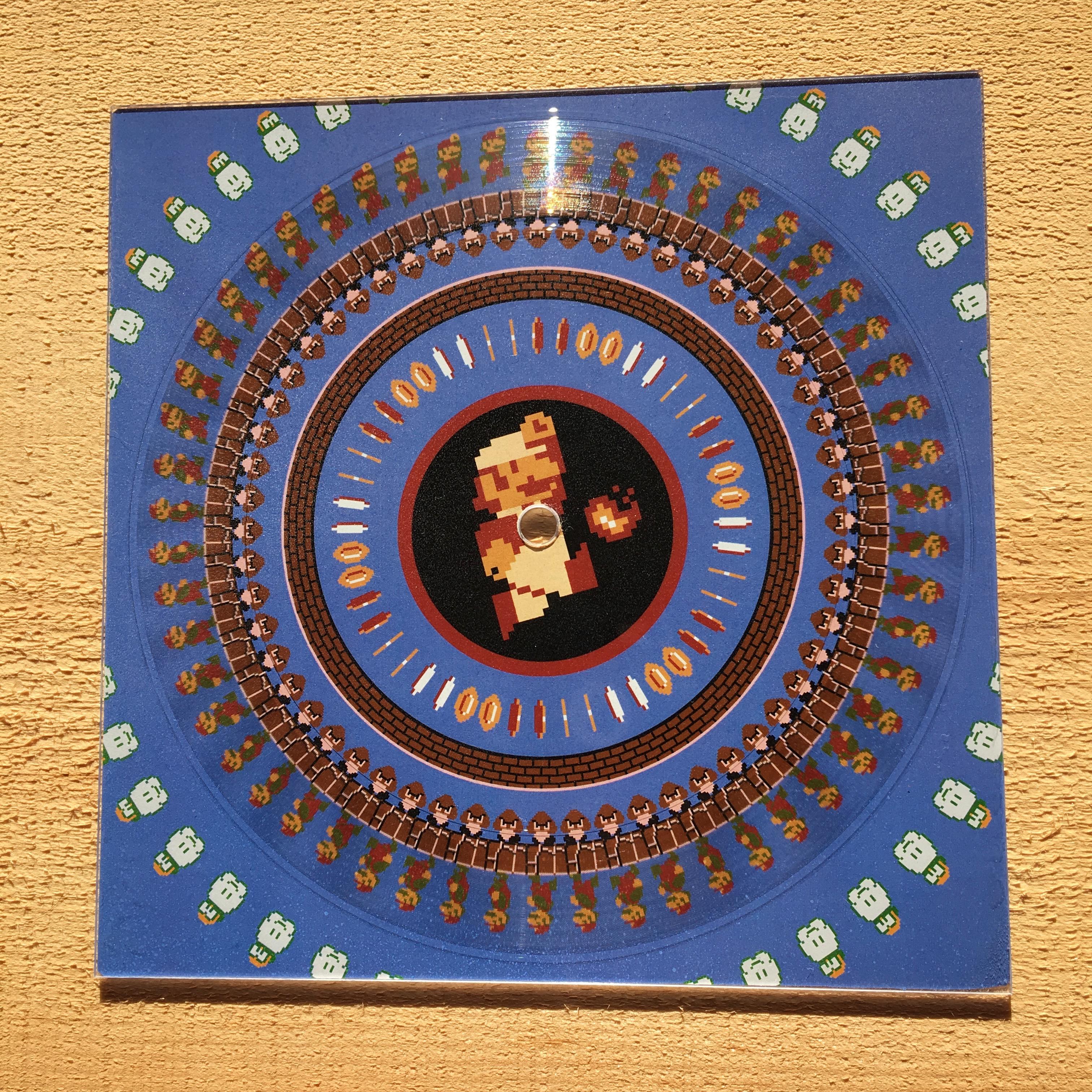 Mario Bros. Zoetrope Record
