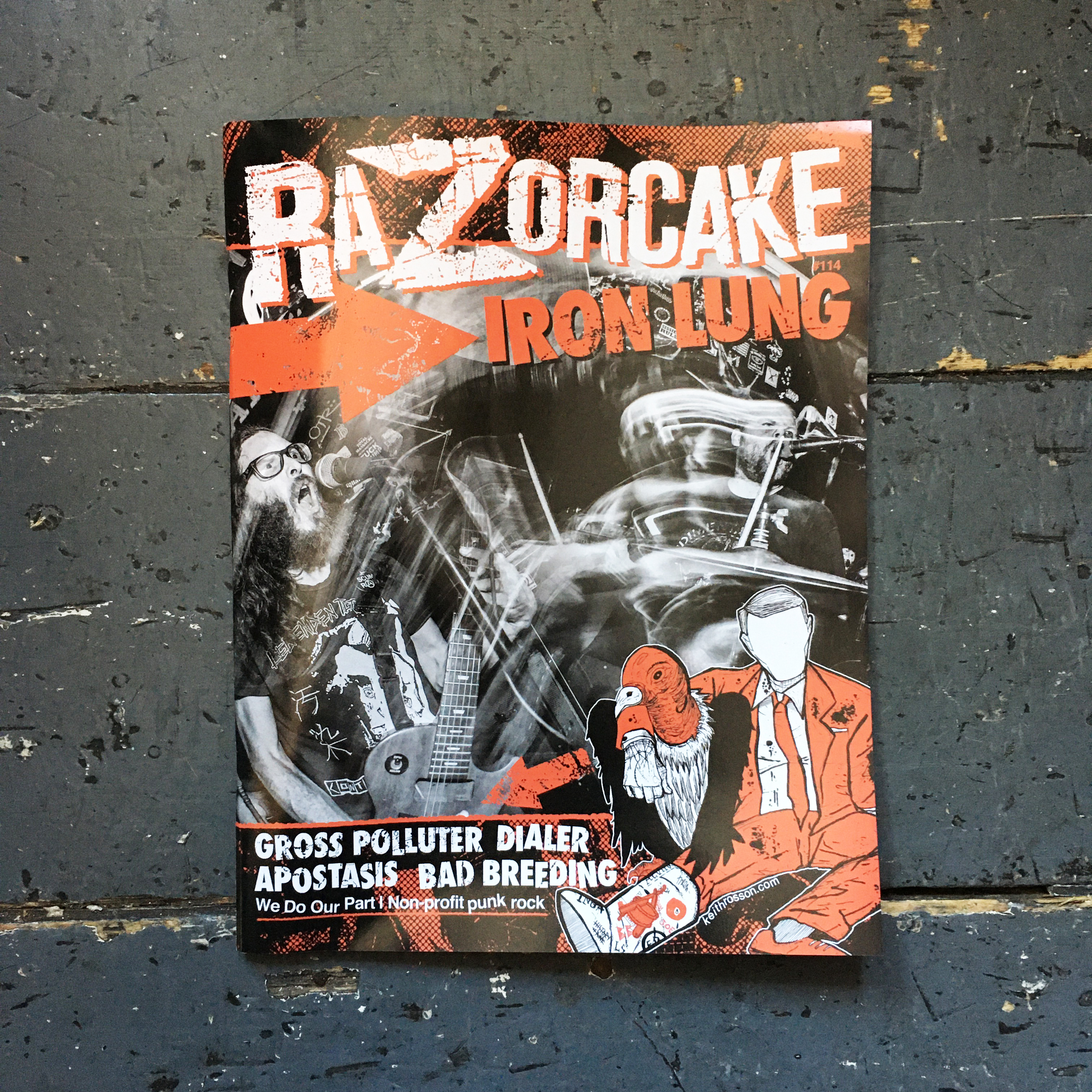 Razorcake #114, Subscriptions & Back Issues