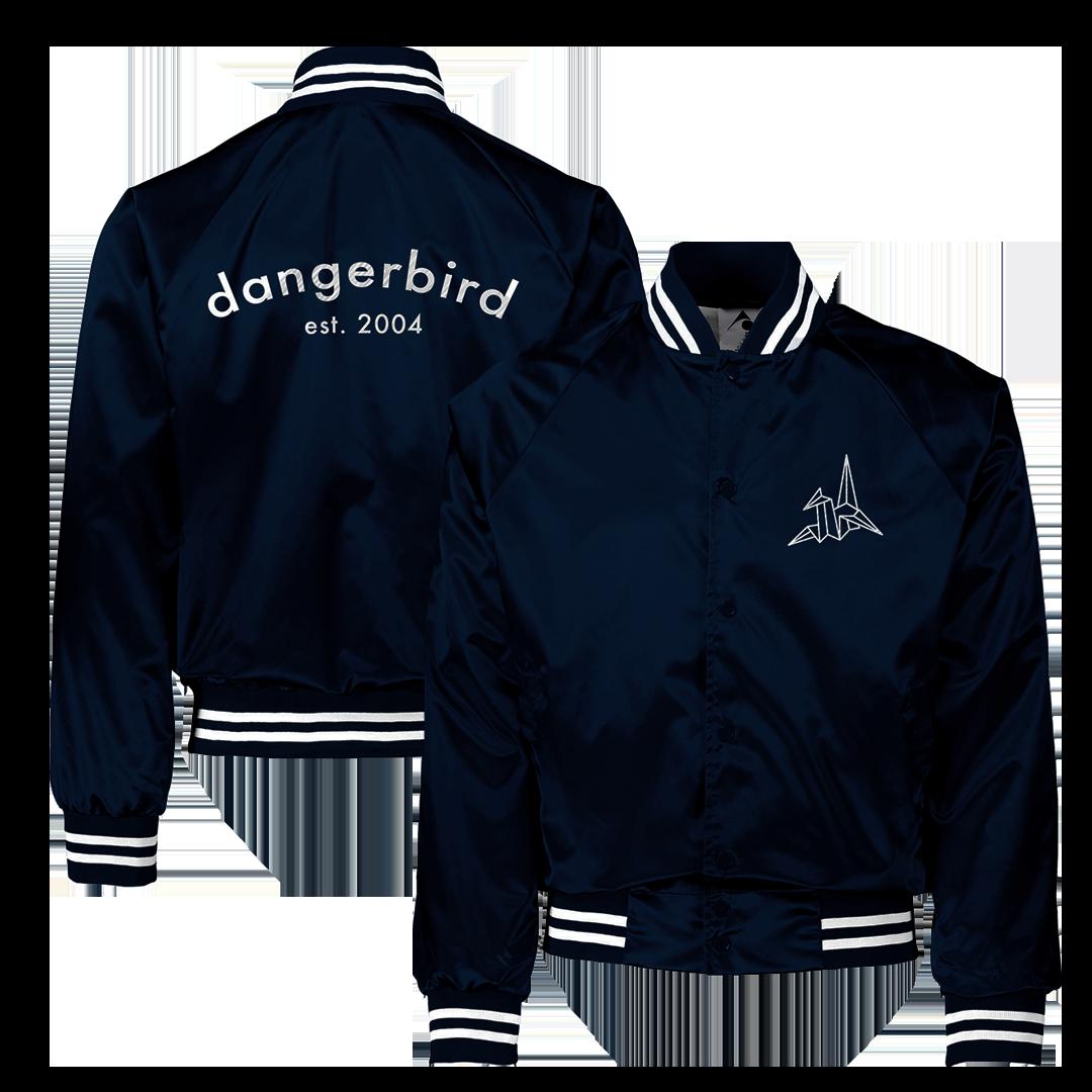 Dangerbird Records - Logo Navy Embroidered Jacket