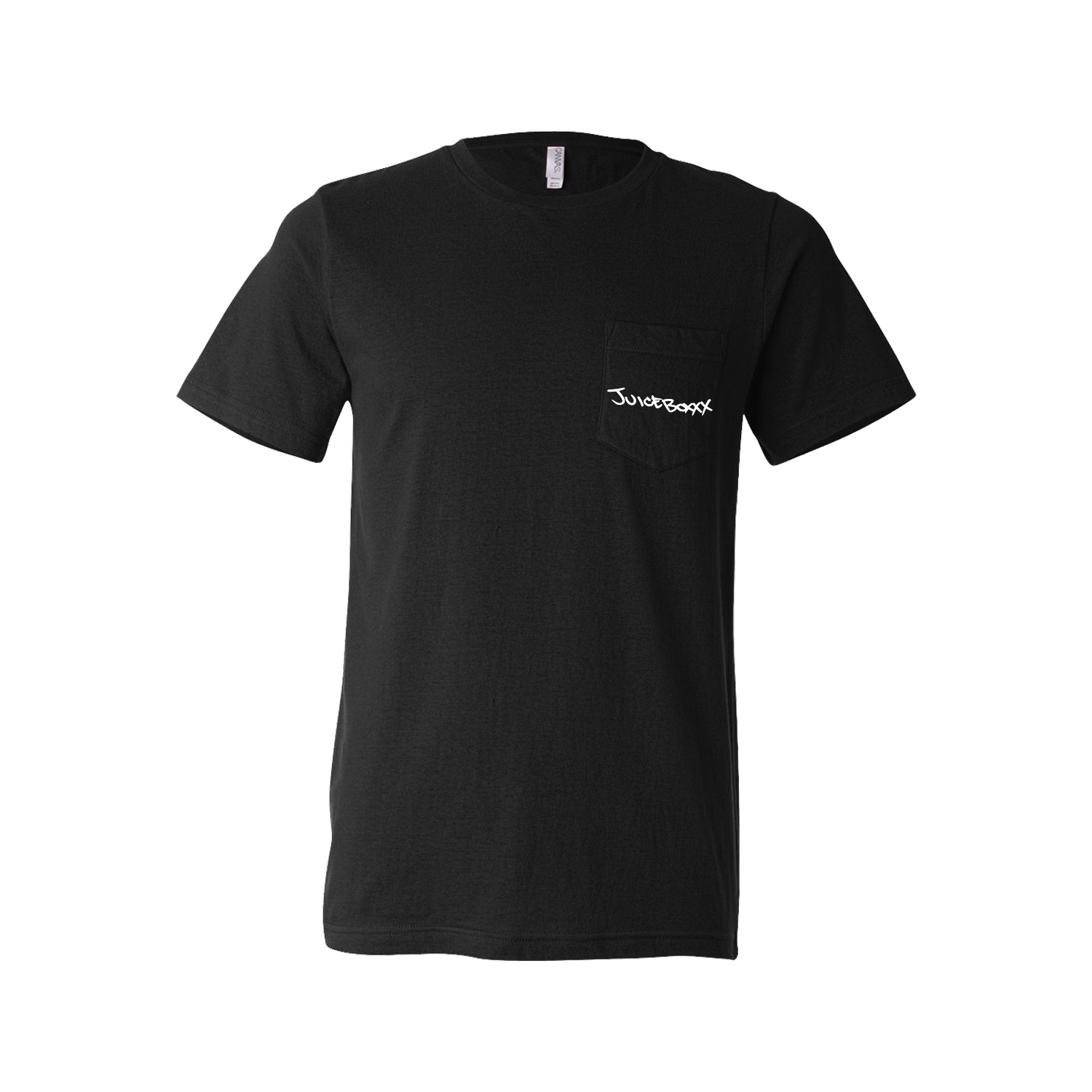 Juiceboxxx - Freaked Out American Loser Black Pocket T-Shirt
