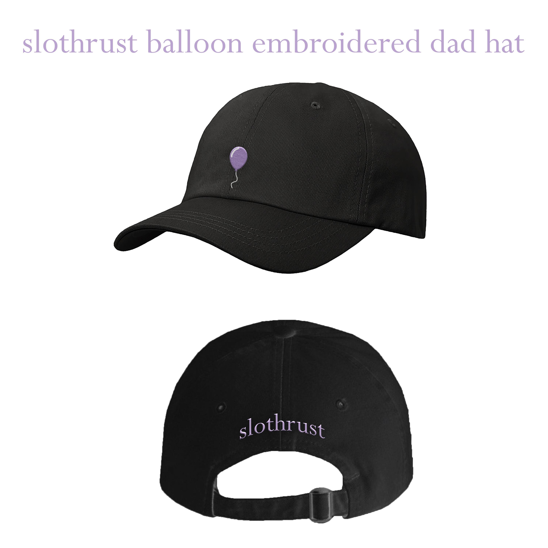 Slothrust - Balloon Black Dad Hat