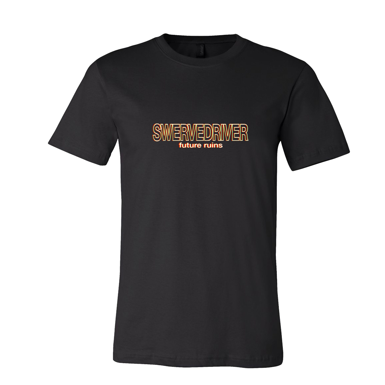Swervedriver - Future Ruins Black T-Shirt
