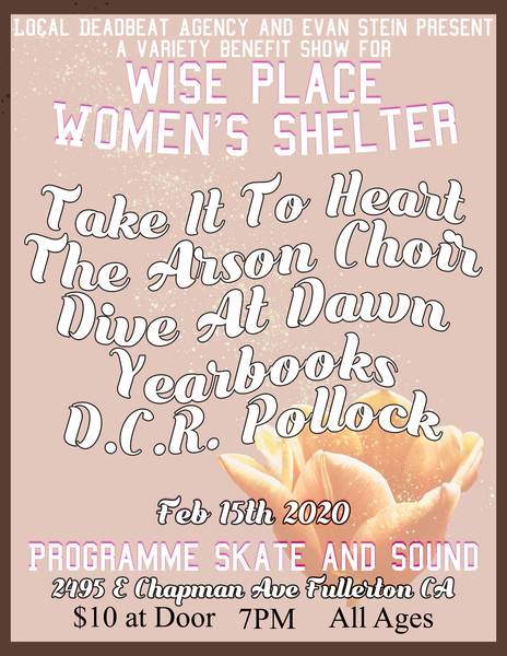 LDA & ES Present: A Benefit Show For Wise Women's Shelter
