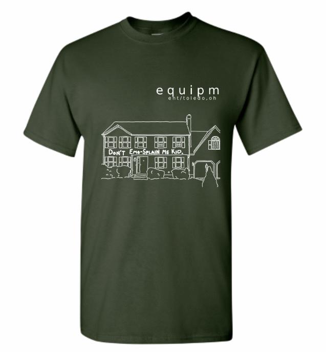 EMO-SPLAIN T-SHIRT PRE-ORDER (SECOND/FINAL RUN)