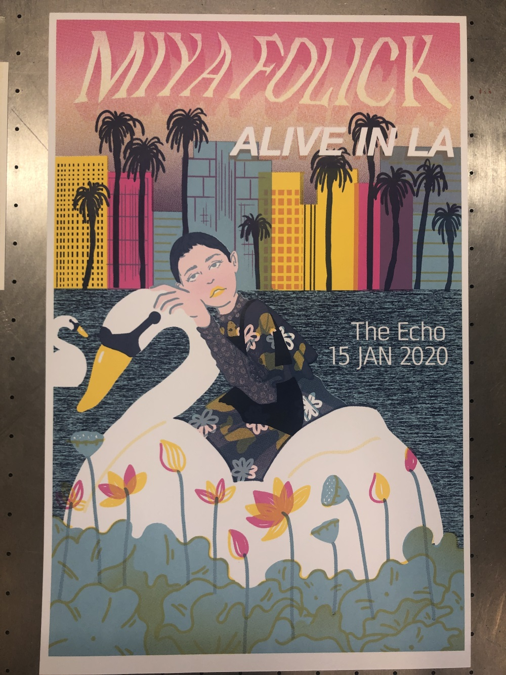 Miya Folick: Alive in LA Poster January 2020