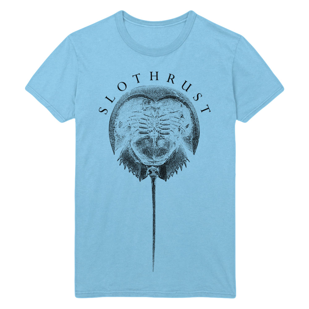 Slothrust - Horse Crab Sky Blue T-Shirt