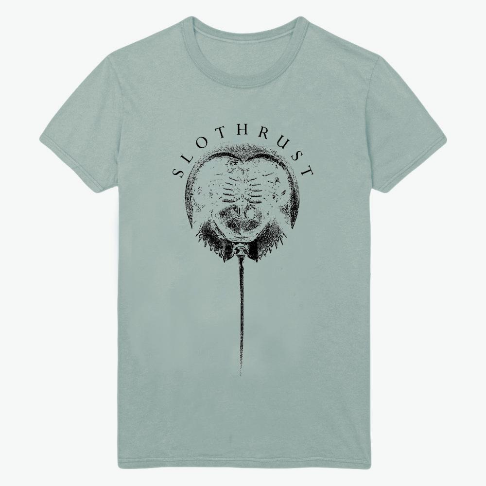 Slothrust - Horse Crab Dusty Blue T-Shirt