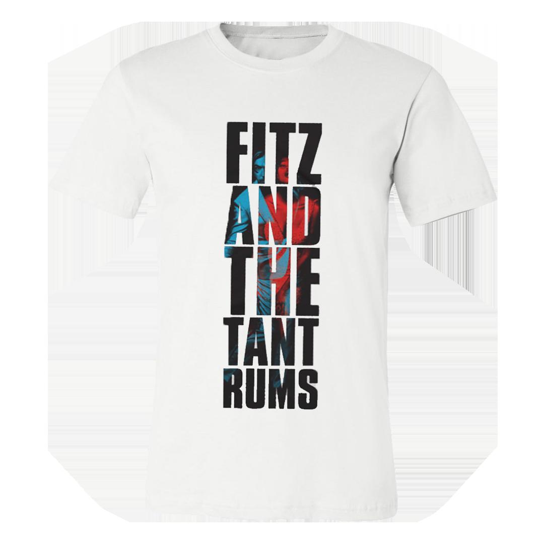 Fitz & The Tantrums - Vertical Logo Black T-Shirt