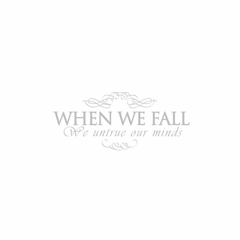 When We Fall - We Untrue Our Minds