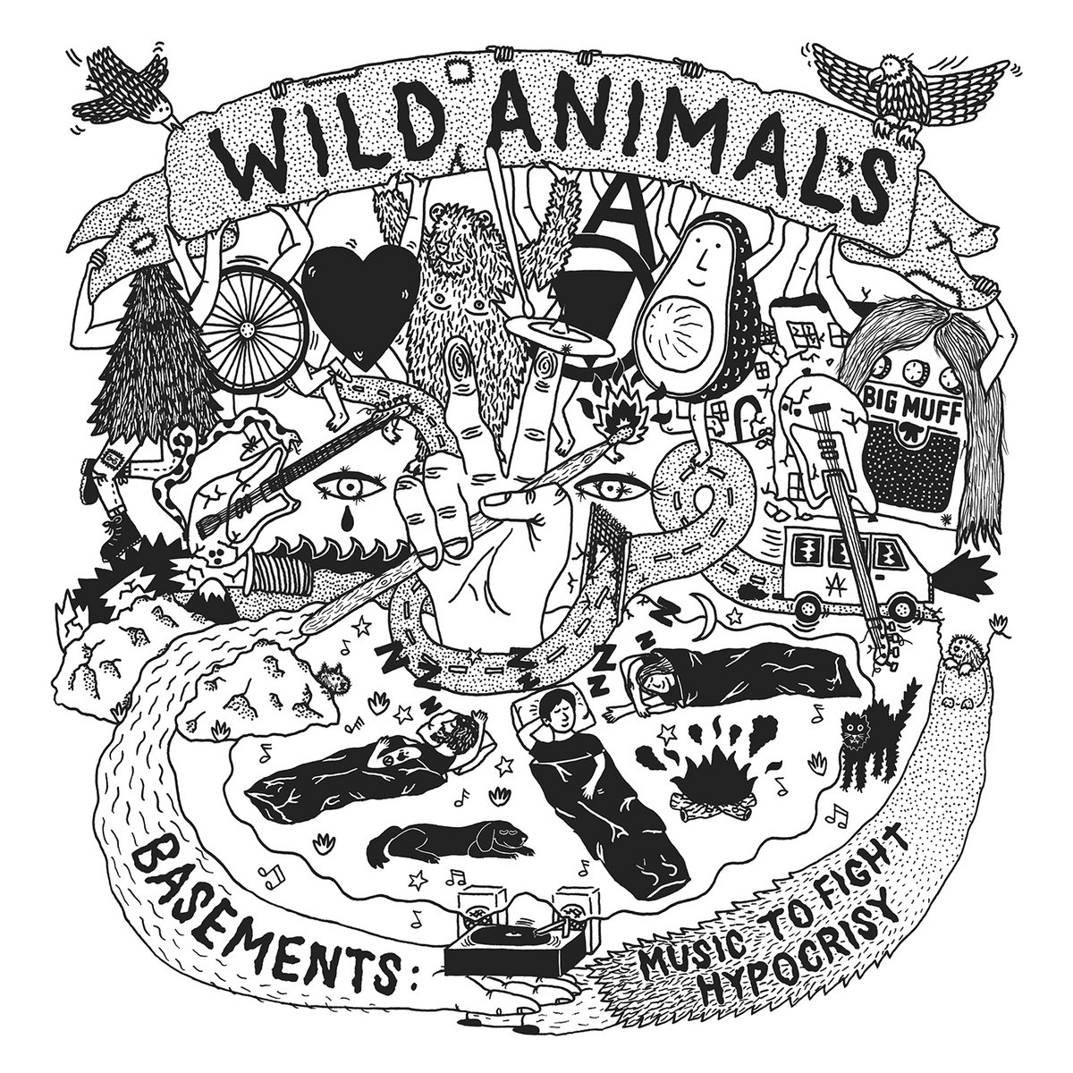 Wild Animals - Basements: Music To Fight Hypocrisy