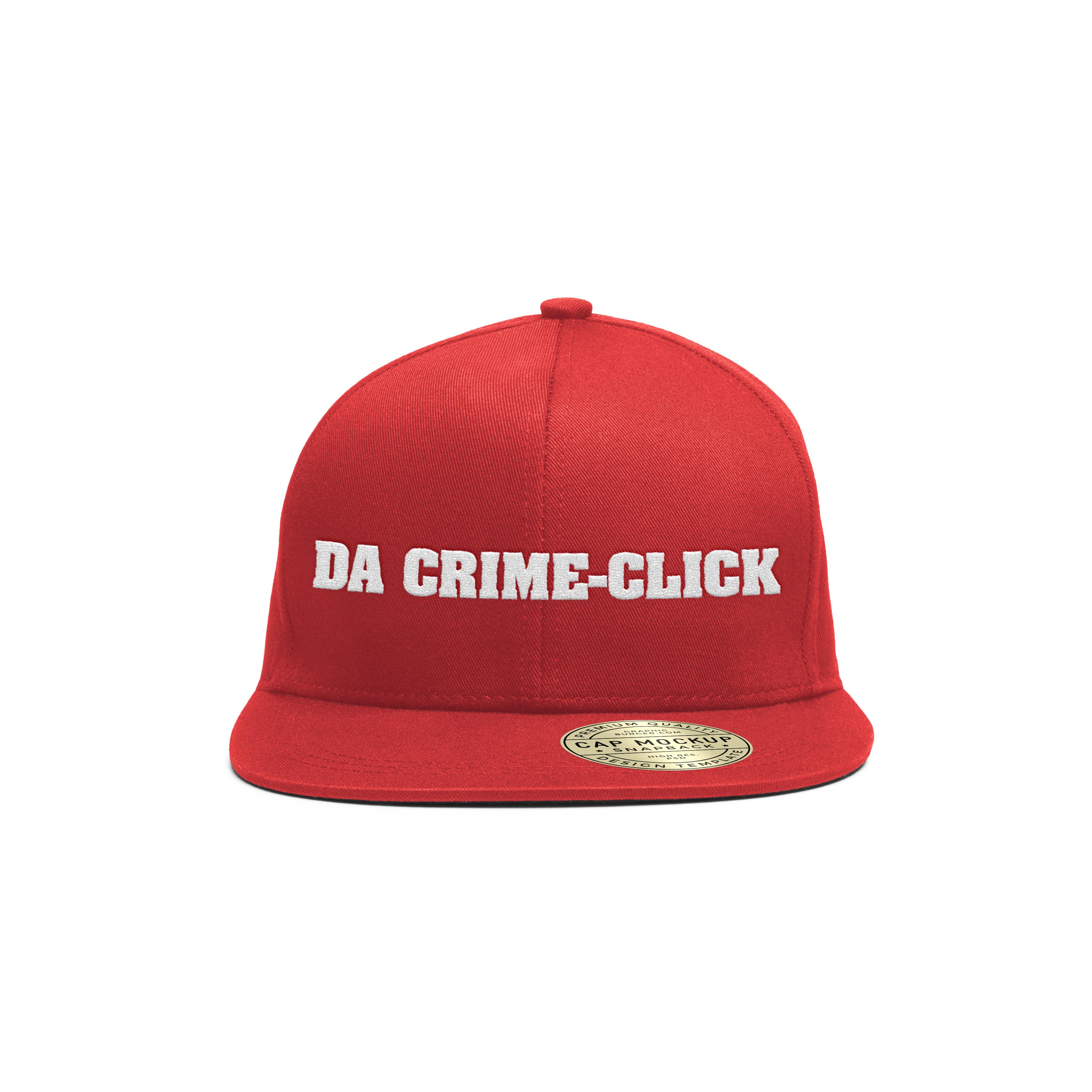Da Crime-Click Baseball Hats