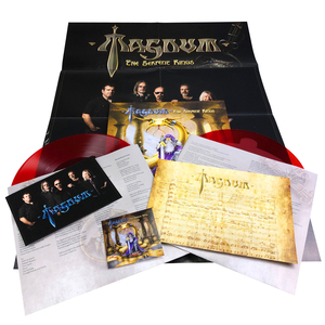 Magnum - The Serpent Rings (LP + A1 poster, A5 photocard, transcription sheet and sticker) - Bundle