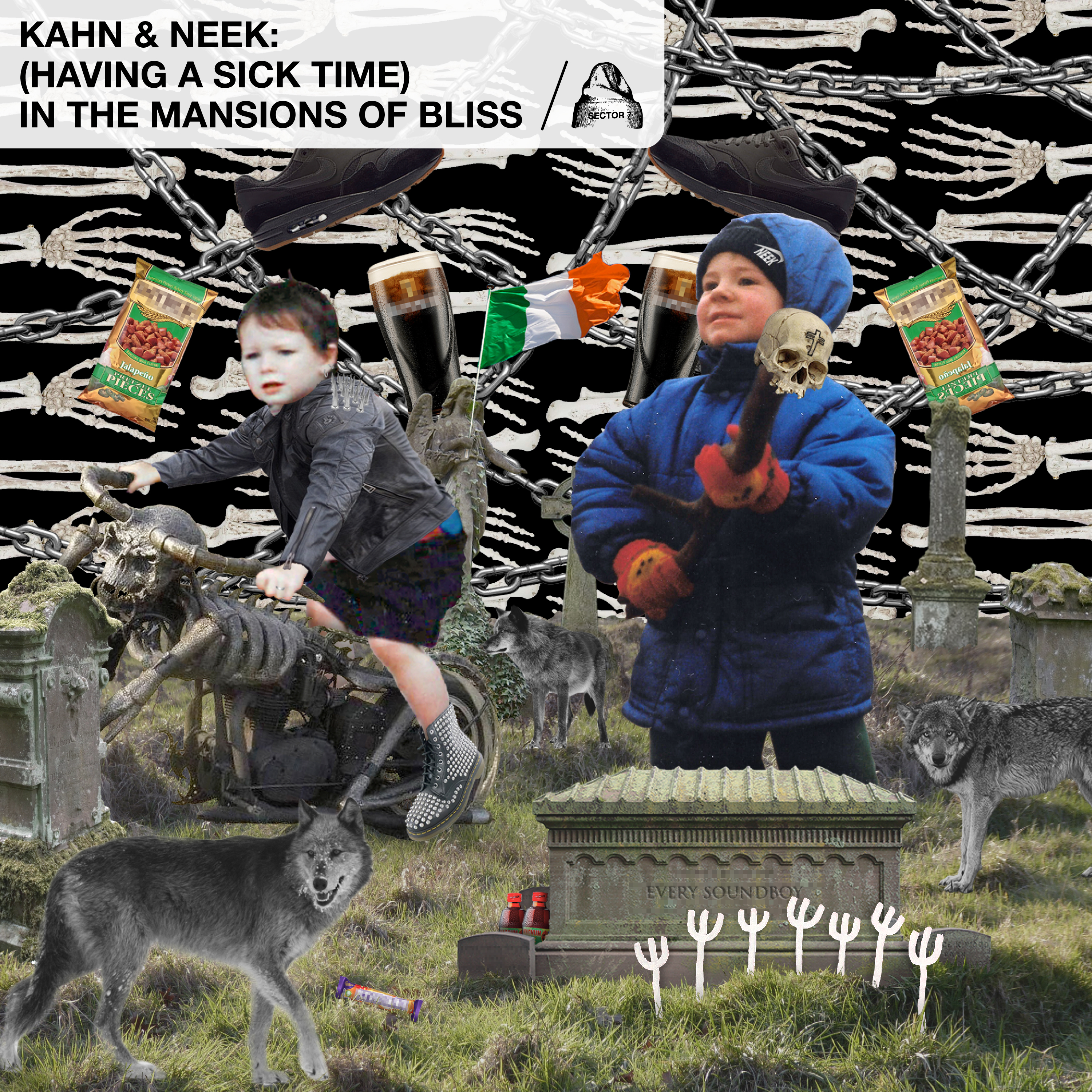 Kahn & Neek - (Having A Sick Time) In The Mansions Of Bliss
