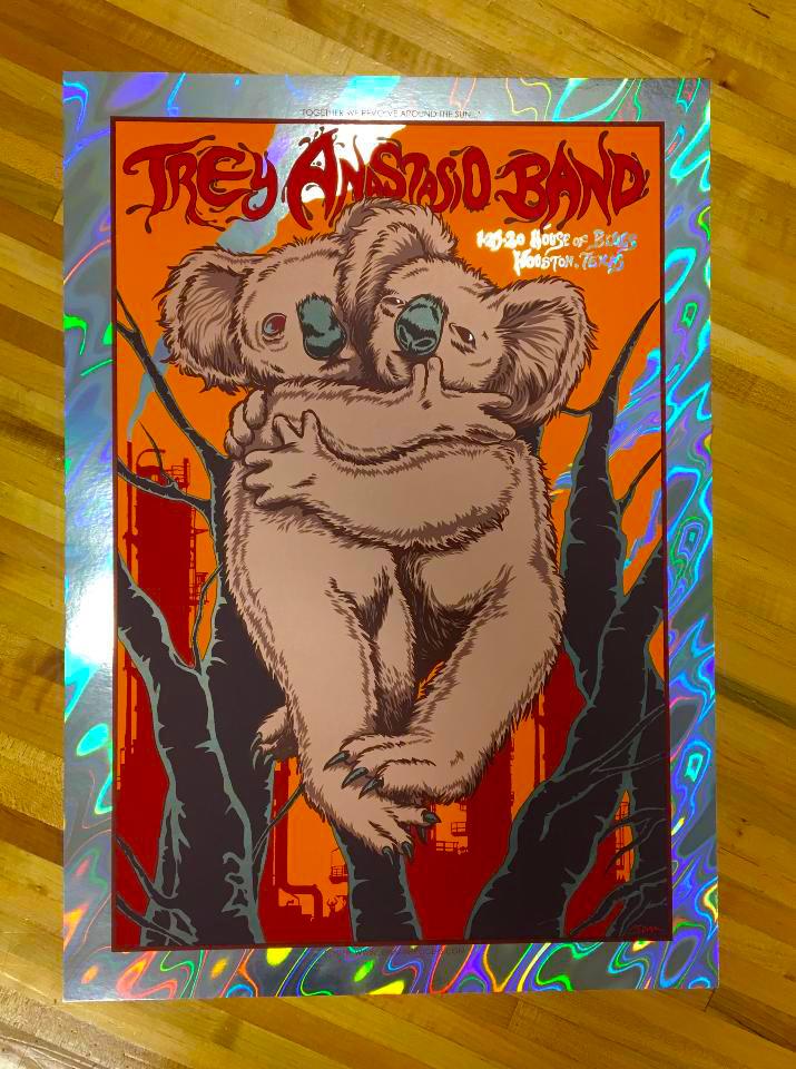 NEW - Trey Anastasio Band (House Of Blues 2020) - ARTIST EDITION & LAVA FOIL EDITION