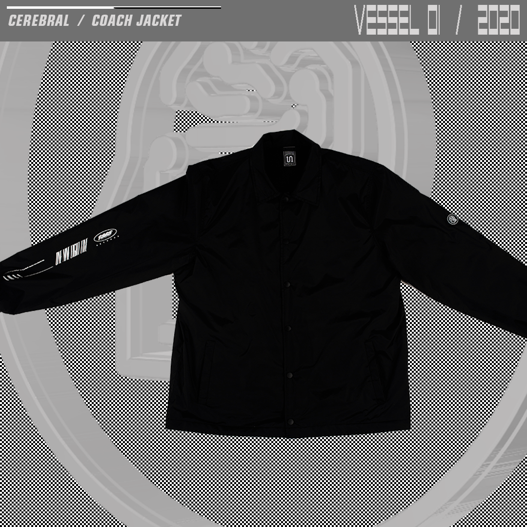 CEREBRAL / COACH JACKET