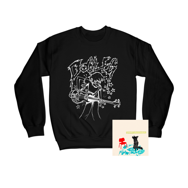 Melee CD + Play Fast Crewneck