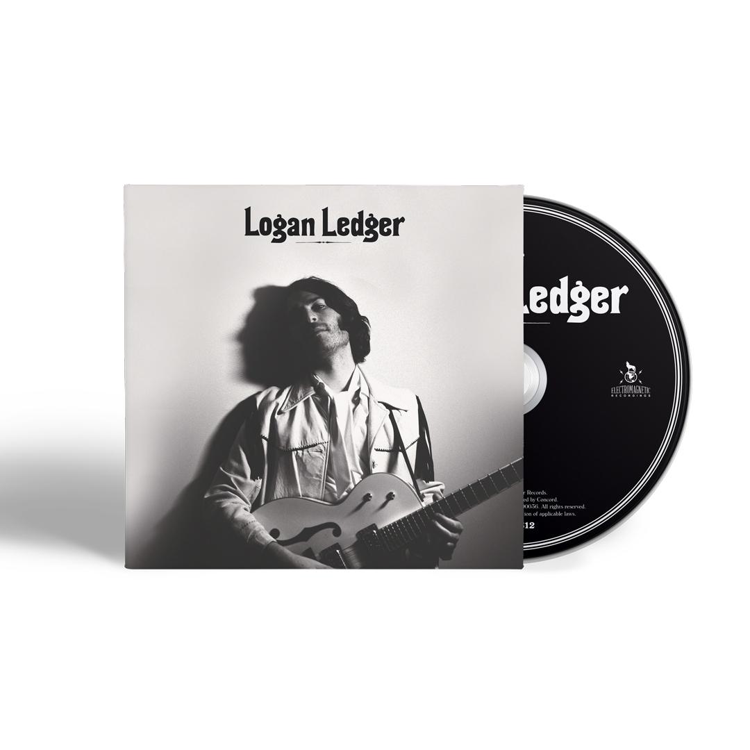 Logan Ledger Signed Vinyl or Signed CD + Tee Shirt Bundle