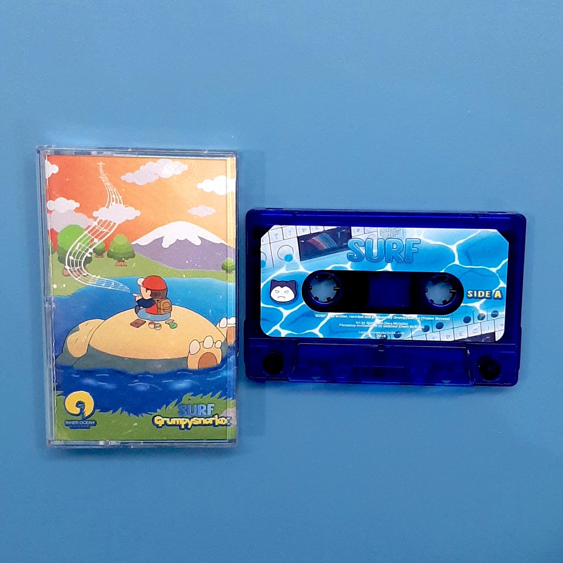 grumpysnorlax - Surf (Inner Ocean Records)