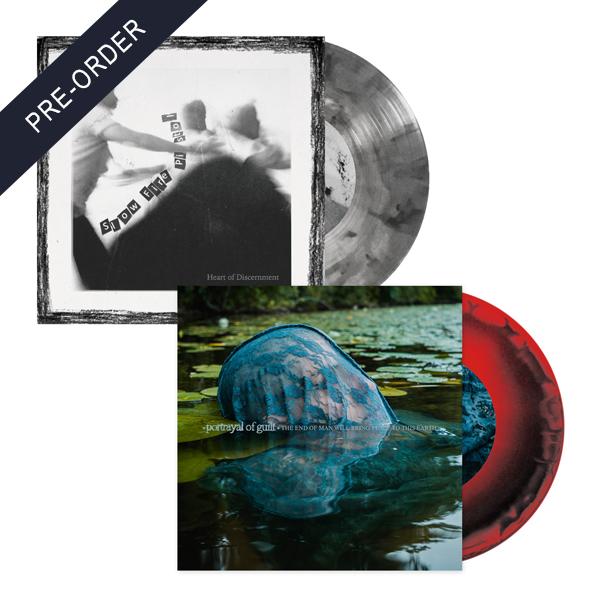 Portrayal of Guilt / Slow Fire Pistol - Split EP