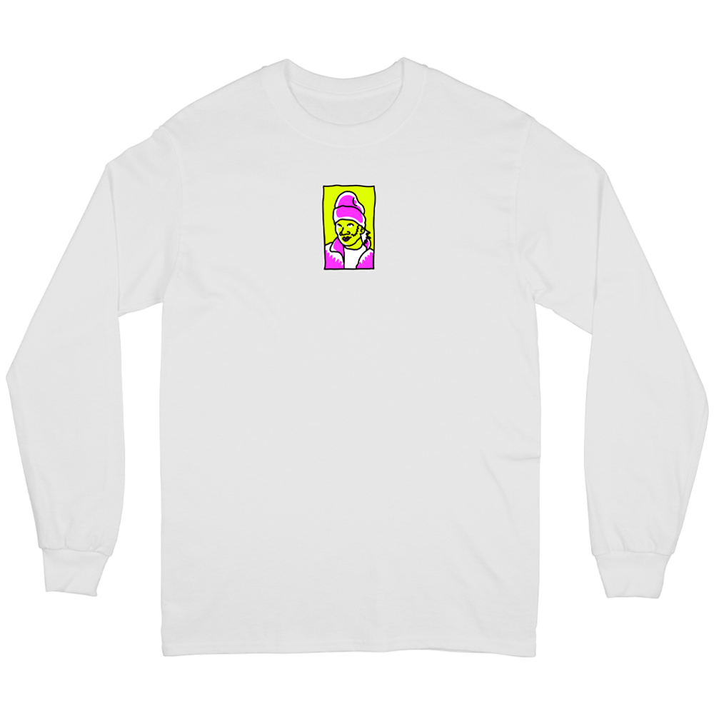Hot Locals Long Sleeve - White
