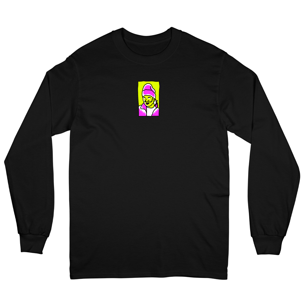 Hot Locals Long Sleeve - Black