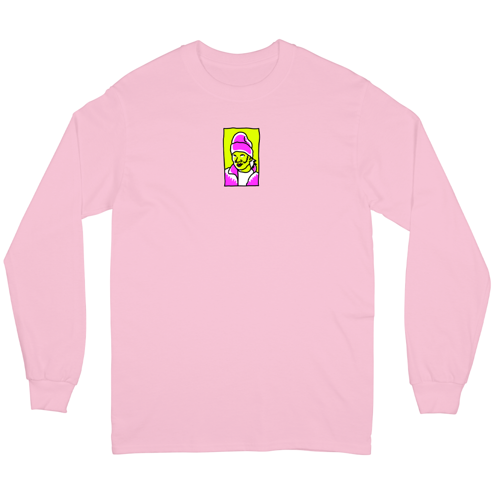 Hot Locals Long Sleeve - Pink