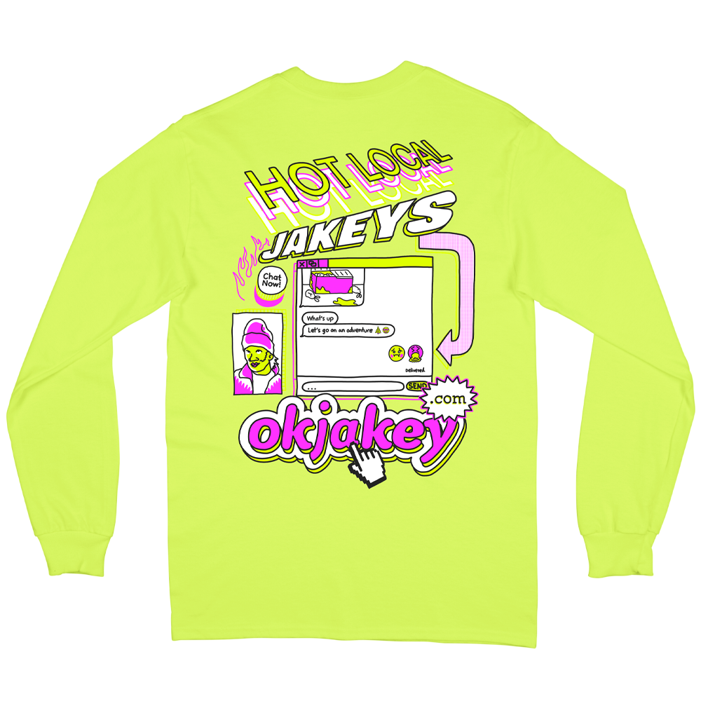 Hot Locals Long Sleeve - Yellow