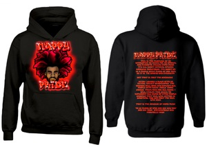AfroMan Red NappyPride Heavyweight Hoodie