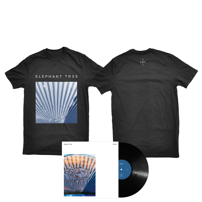 Elephant Tree - Habits shirt + black LP PREORDER