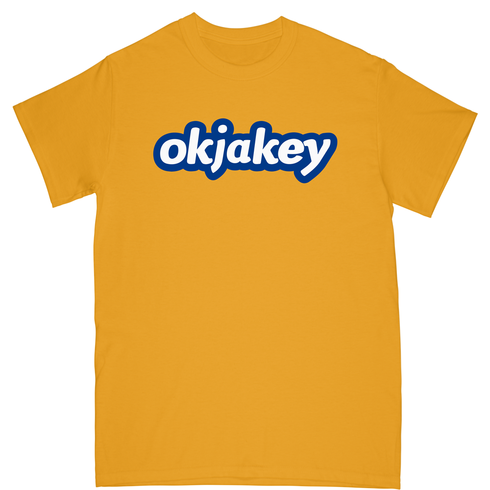 OKJAKEY Tee - Yellow