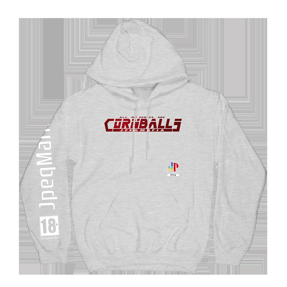 PS Cornball Hoodie - Grey