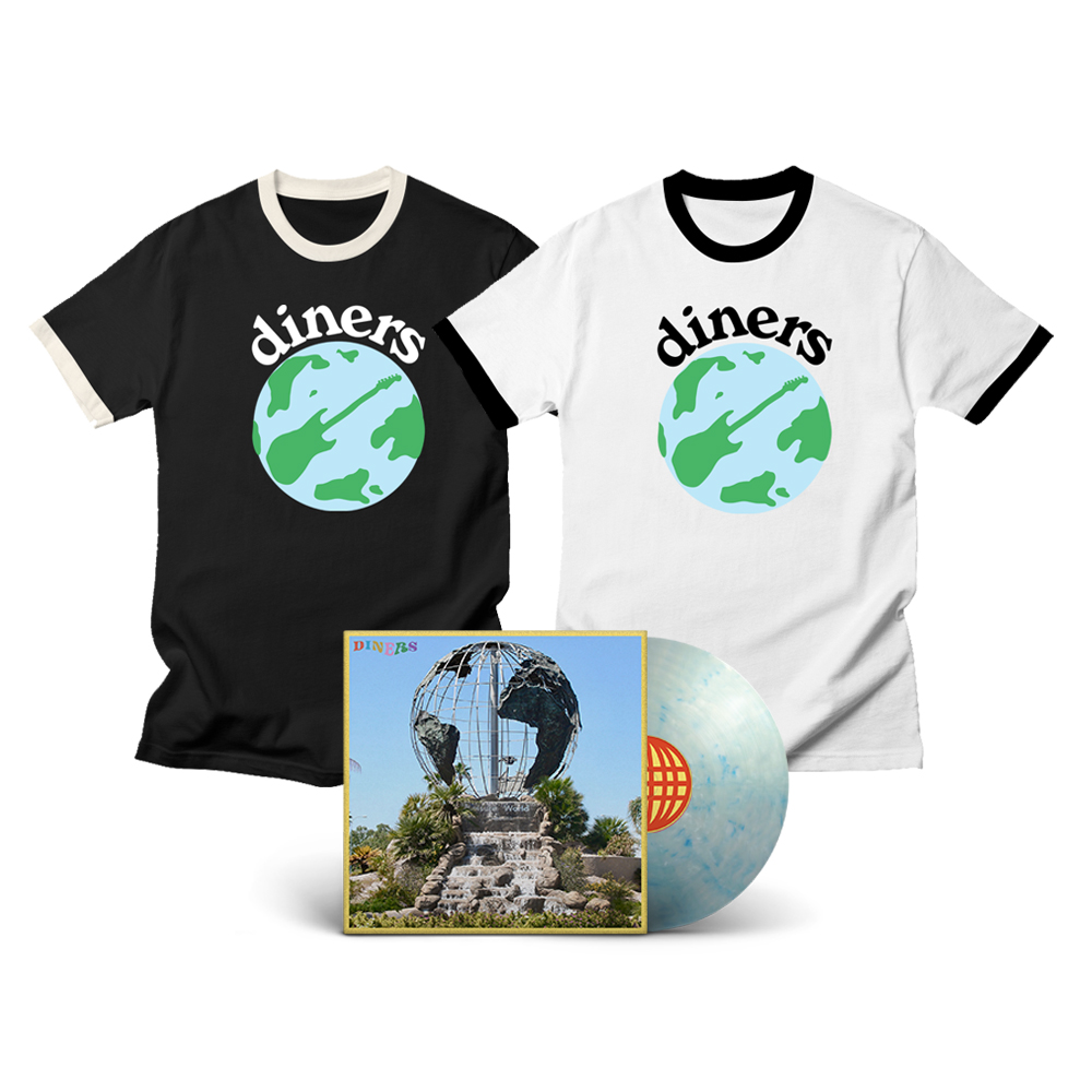 Diners - Leisure World Shirt + Album Bundle