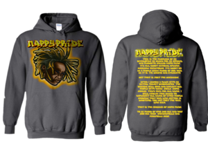 Lil Jasper Gold NappyPride Heavyweight Hoodie