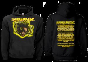 Lil Jasper Yellow NappyPride Heavyweight Hoodie
