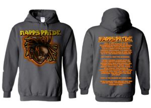 Lil Jasper Orange NappyPride Heavyweight Hoodie