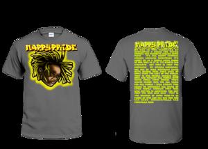Lil Jasper Yellow NappyPride T-Shirt