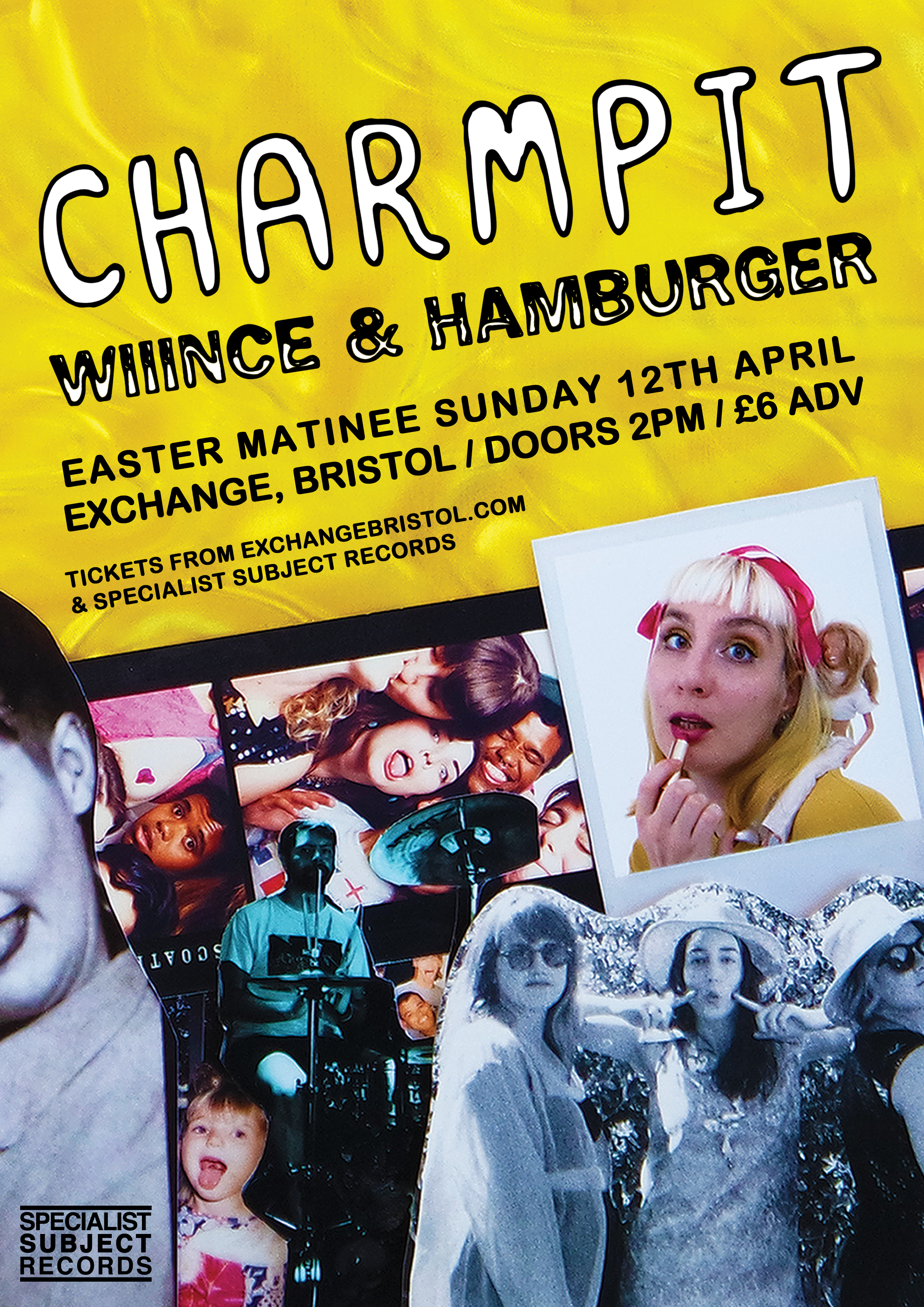 Charmpit, Wiiince & Hamburger