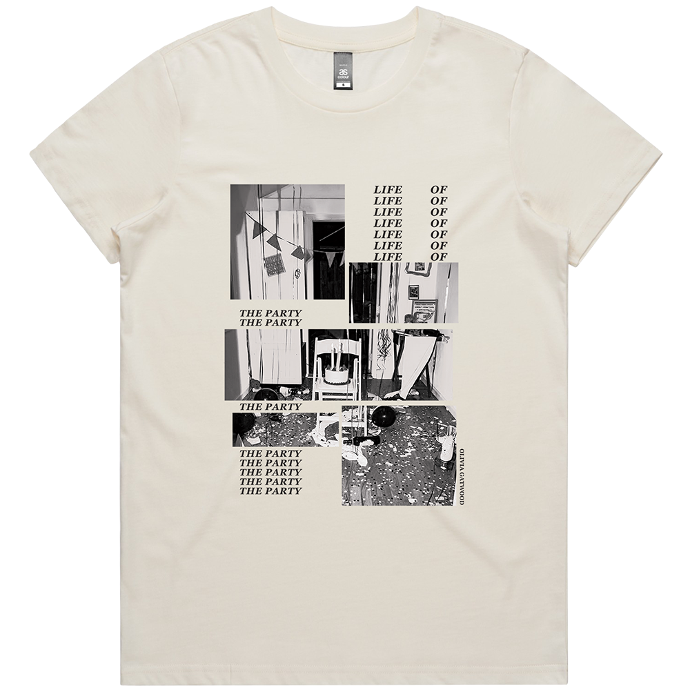 Life of the Party Tee - Natural