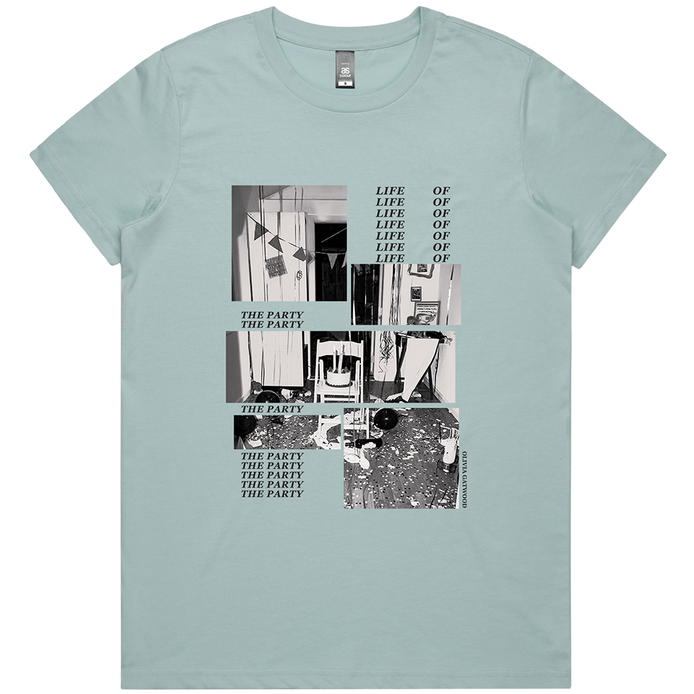 Life of the Party Tee - Pale Blue