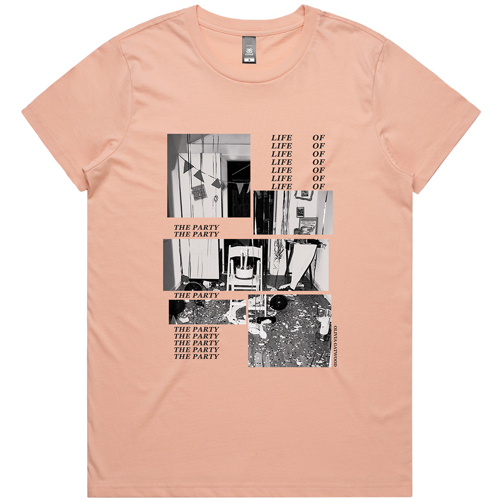 Life of the Party Tee - Pale Pink