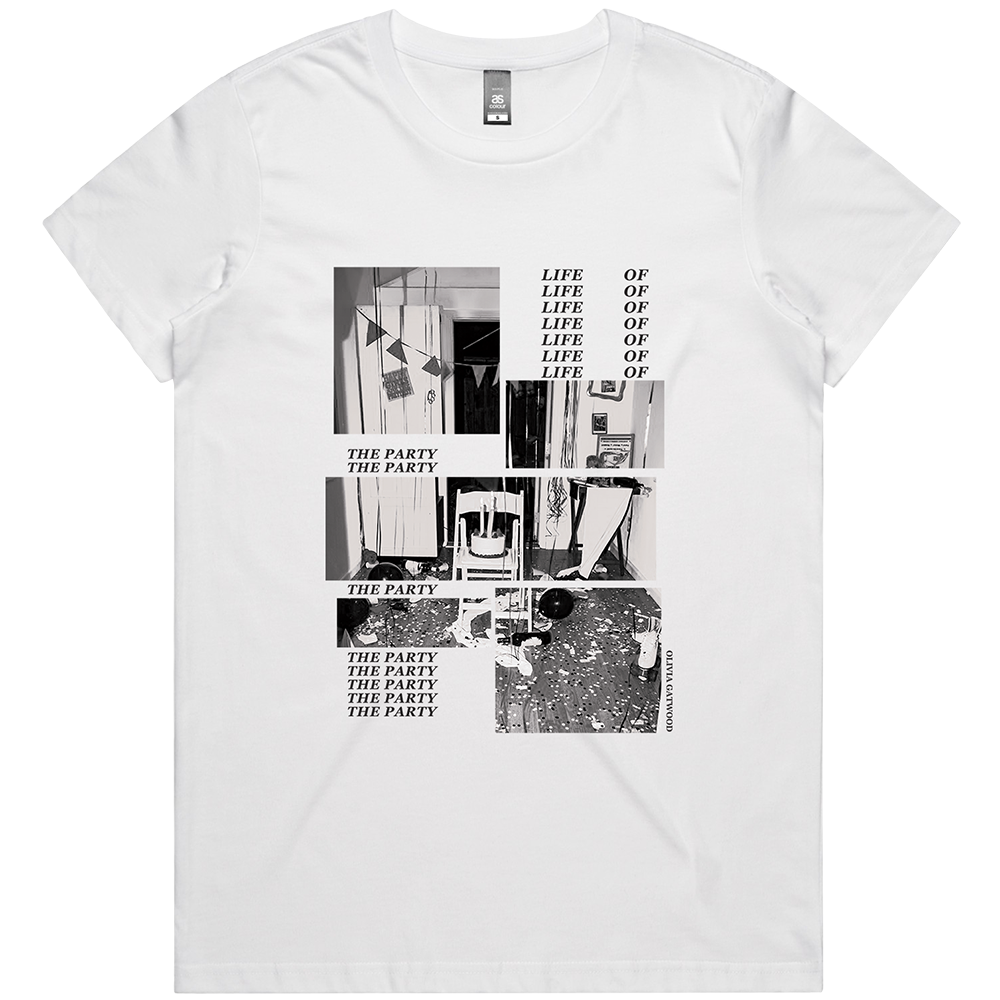 Life of the Party Tee - White