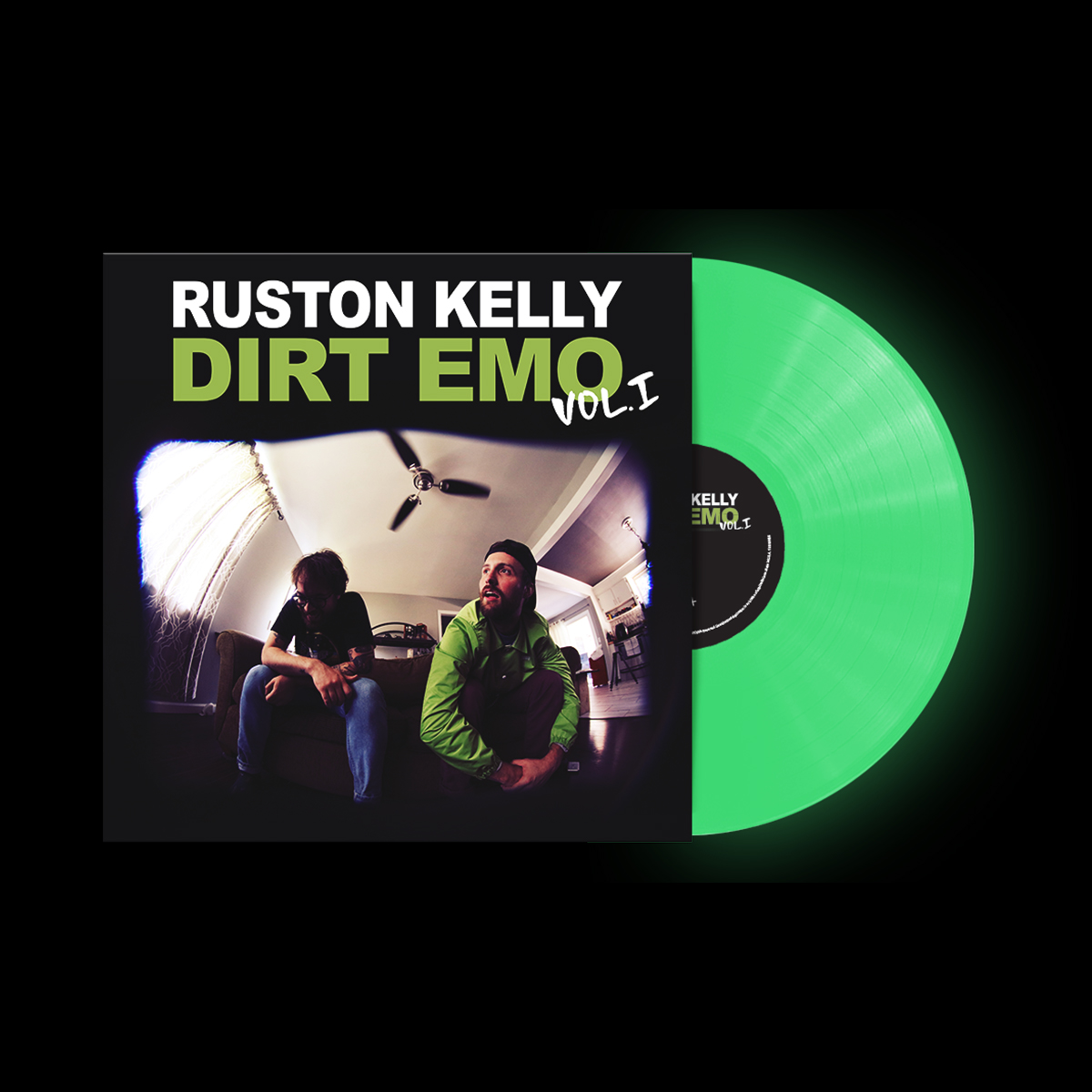 Dirt Emo Hoodie + Tee Shirt + Dirt Emo Vol 1. Glow-in-the-dark Vinyl or Download (optional)