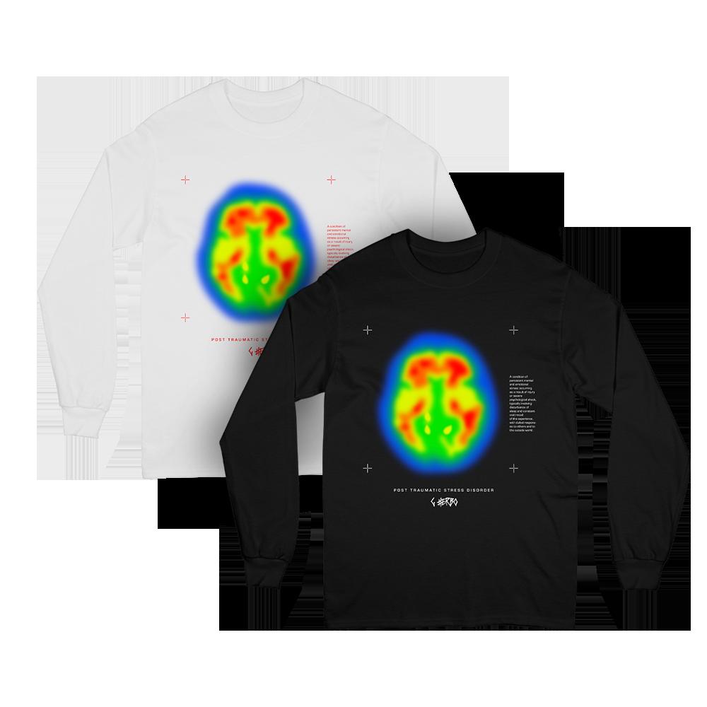 Brain Scan Long Sleeve + Digital Download