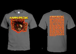 Lil Jasper RedOrange NappyPride T-Shirt