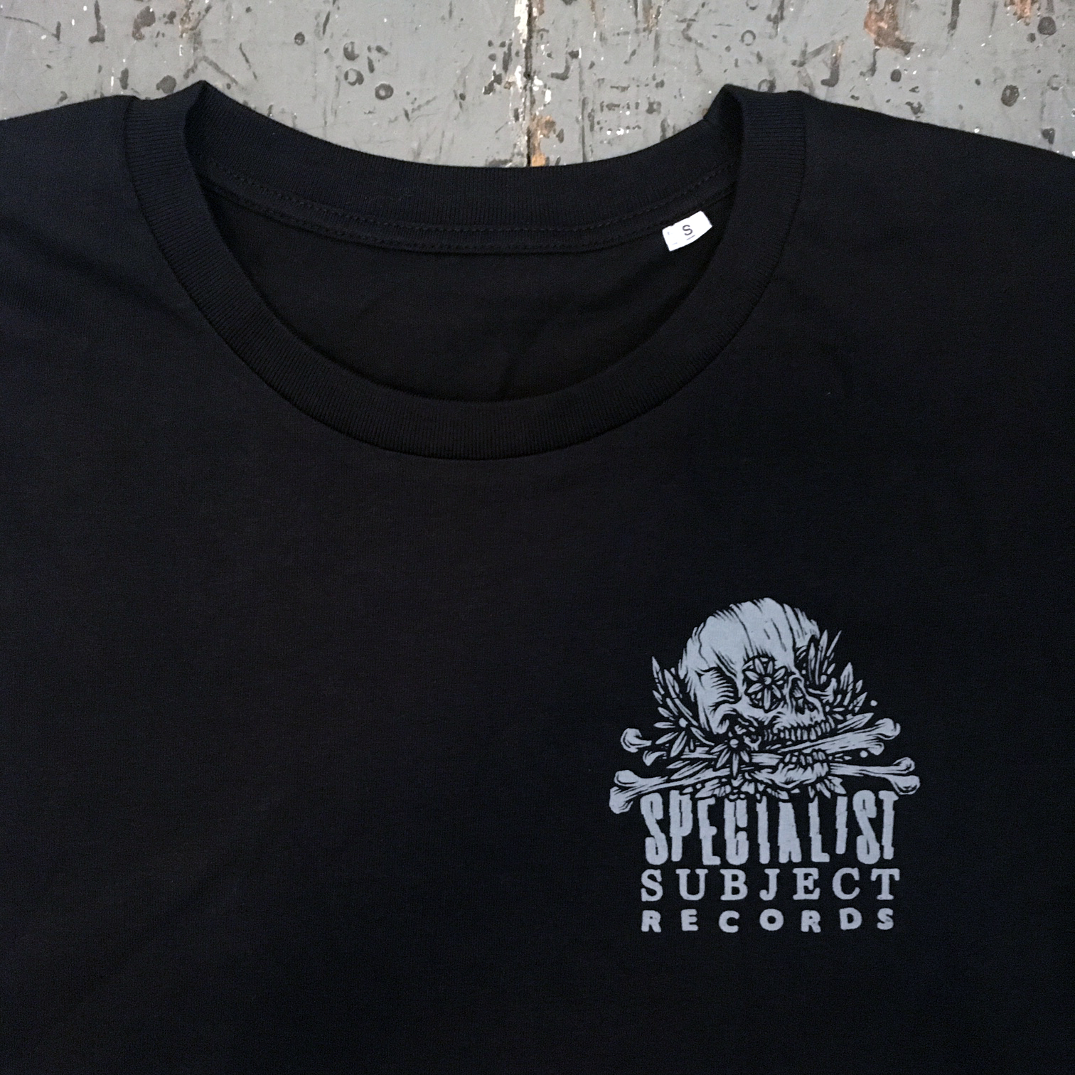 Bury Me With My Records - Drew Millward Organic back print T-shirt