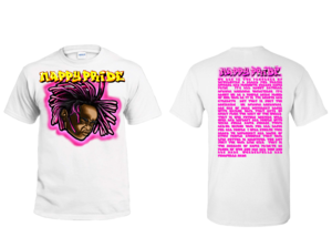 Lil Jasper Pink NappyPride T-Shirt
